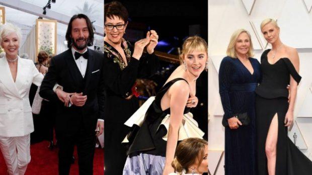 """ME PRINDËRIT NË """"OSCARS 2020″/ Aktorët e famshëm që zgjodhën të shoqëroheshin me mamatë e tyre"""