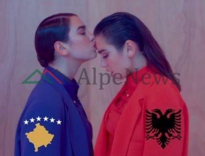 """""""NJI KOMB NJI FLAMUR""""/ Dua Lipa uron në mënyrën më të veçantë Kosovën"""