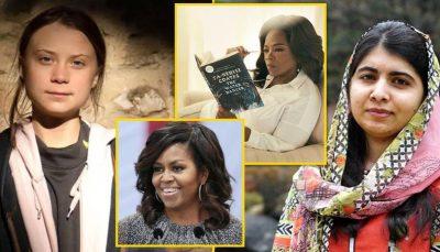 NGA KLINTON DERI TEK THUNBERG/Dhjetë rrëfimet më emocionuese të grave të njohura që shenjuan dekadën e fundit