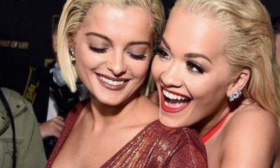 """""""ME DASHURI…""""/ Rita Ora merr një dhuratë të veçantë nga Bebe Rexha"""
