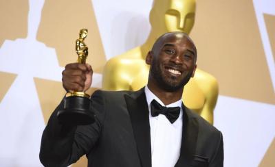 """""""OSCARS 2020″/ Regjisori amerikan nderon Kobe Bryant në tapetin e kuq"""