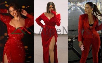 """""""TË GJITHA ME TË KUQE""""/ Ngjyra që VIP-et shqiptare e kthyen në trendin e këtij viti"""