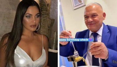 """""""SHEIK EDHE 100″/ Françeska mbulon me para njeriun e saj të shtrenjtë për ditëlindje (FOTO)"""