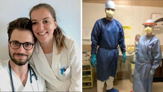 HISTORIA/ Nuk do ta besoni çfarë vendimi mori ky çift doktorësh për të luftuar kundër koronavirusit