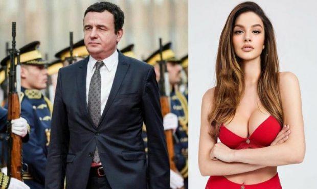 """""""HIJENAT E KORRUPSIONIT…""""/ Modelja seksi Oriola Marashi e revoltuar pas shkarkimit të Albin Kurtit"""