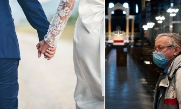 KORONAVIRUSI/ Dasmat në Angli do të bëhen me pesë persona, të tjerët do të ndjekin ceremoninë përmes Skype