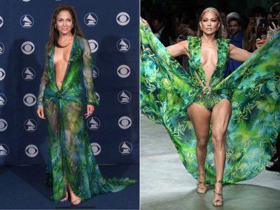 """""""MODA KA NJË NDIKIM TË PAIMAGJINUESHËM""""/ Jennifer Lopez gjen një tjetër mënyrë për të veshur fustanin ikonik Versace"""