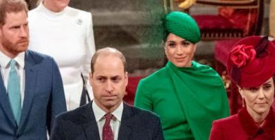 GJENDJE E TENSIONUAR? Harry, Meghan, William dhe Kate shfaqen në praninë e njëri-tjetrit pas shumë kohësh