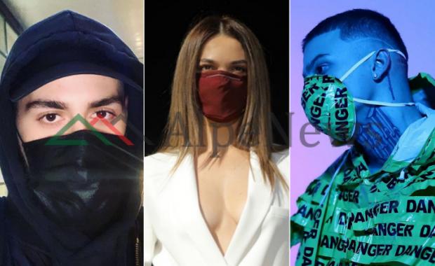 KORONAVIRUSI/ VIP-at shqiptarë vendosin maska mbrojtëse dhe japin mesazhe