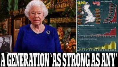 SI RRALLËHERË/ Mbretëresha Elizabeth del sot në një konferencë televizive