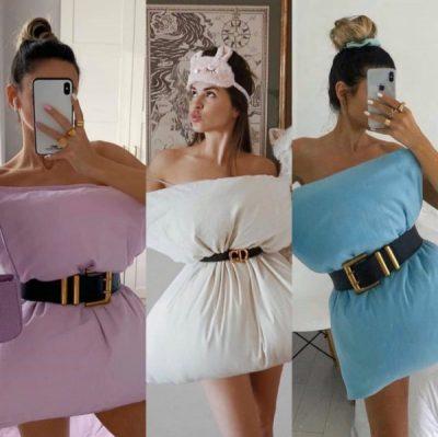 SFIDA MË E RE E INSTAGRAMIT/ Kthejeni jastëkun në fustan