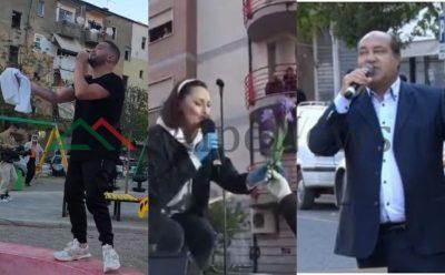 RRUGËT BOSH, DRITARET PLOT! Këngëtarët shqiptarë, që ia zbukuruan karantinën komshinjve të tyre!
