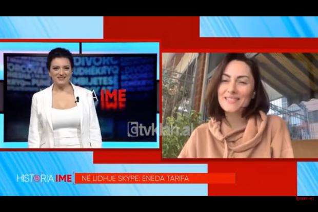 KORONAVIRUSI/ Eneda Tarifa: Po e marr si një moment të bukur, shpenzoj kohë me vajzën (VIDEO)