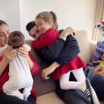 """""""DONIM TË TË FALNIM UNIVERSIN""""/ Albani, Ameli dhe Duam surprizojnë Miriamin në 35-vjetor (FOTO)"""