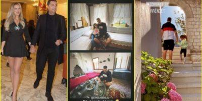 """""""NË KONAK TË T'VET""""/ Rezarta dhe nipi i diktatorit shkojnë në Gjirokastër, pamjet brenda shtëpisë së Enver Hoxhës"""