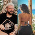 SI DY ZOGJ TË DASHURUAR/ Dj Sardi ndan momentet private në plazh me të fejuarën (FOTOT)