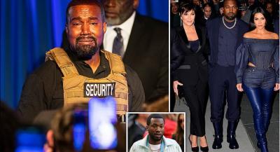 """""""DO DIVORCOHESHA NGA KIM KUR AJO TAKOI REPERIN MEEK MILL NË NJË DHOMË…""""/ Kanye West e quan nënën e saj 'Kris Jong Un'"""