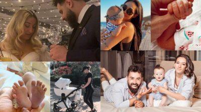 NGA KLEA HUTA TEK OLTA GIXHARI/ 2020 ishte viti i personazheve shqiptarë që u bënë prindër për herë të parë (FOTO)