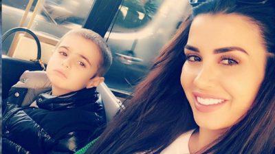 SA SHUMË ËSHTË RRITUR/ Jonida Maliqi ndan videon më të ëmbël me të birin (VIDEO)