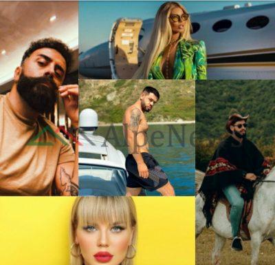 """""""MBRETI I DITËS"""" NË INSTAGRAM/ """"THYEN"""" rekordin për sot, Noizy kryeson listën (FOTOT)"""