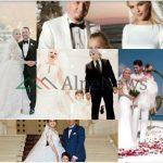TË SHOQËRUAR NGA FËMIJËT/ VIP-at shqiptarë që zgjodhën të kishin një ceromoni martesore ndryshe (FOTOT)