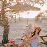 """""""LUMTURIA IME MË E MADHE QË MË KA…""""/ Pas 9 muajsh me Sean, Vilma Masha i prezanton të gjithë me vogëlushen e saj (FOTOT)"""