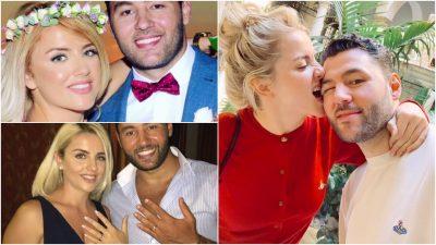 """ÇFARË NDODHI? Pas 4 vitesh martesë në Angli, bashkëshortja e ish-banorit të """"Big Brother"""" zhduk çdo gjurmë të historisë së tyre (FOTO)"""
