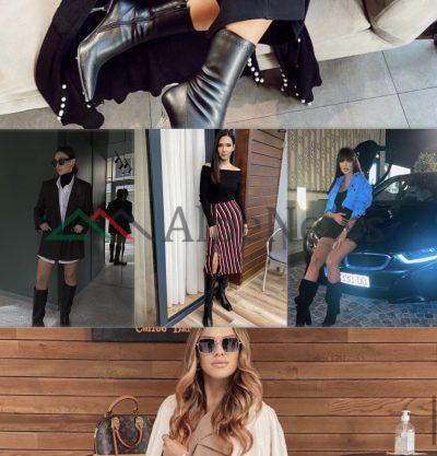 DO I FALENDERONI/ Këto janë modelet e çizmeve që ju duhen këtë dimër sipas vajzave të showbizzit (FOTOT)