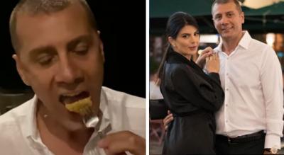 """""""O MARK FRROKU TË HËNKSHA BUZËN""""/ Rudina vendos në siklet partnerin gjatë darkës në Turqi (FOTO+VIDEO)"""