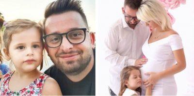 U BË BABA PËR HERË TË DYTË/ Erion Isai shfaqet për herë të parë në publik me dy vajzat e tij (FOTO)