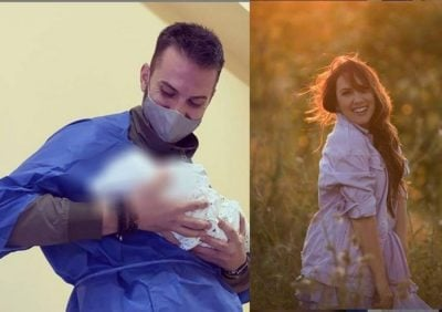 ME EMRAT E…/ Eduarti i bën dhuratën e veçantë Arbanës pak ditë pasi u bën prindër (FOTO)