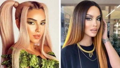 """KIDA DHE DAFINA """"BEFASOJNË"""" RRJETIN/ Sjellin trendin më """"të çuditshëm"""" të flokëve (FOTOT)"""