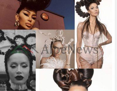 """HABISIN ME LOOK-UN/ Modelet e """"çuditshme"""" të flokëve që zgjodhën vajzat e showbizzit (FOTOT)"""