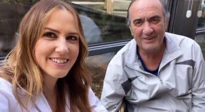 """""""20 DITË ME KORONAVIRUS""""/ Arbana takon të atin pas kaq kohësh: Mirë e kaloi (FOTO+VIDEO)"""