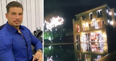"""GJIGANDE DHE LUKSOZE/ Pamje nga shtëpia ku do të jetojë Saimiri i """"Love Story"""" (VIDEO)"""