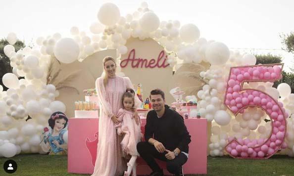 """""""I LUTEM ZOTIT TË GËZOSH…""""/ Ameli feston 5-vjetorin e lindjes, Miriami dhe Albani i dedikojnë fjalë të ngrohta (FOTOT)"""