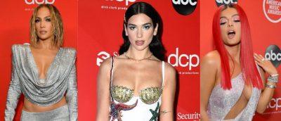 NA LANË PA FJALË/ Ja çfarë veshën yjet botërore në tapetin e kuq të American Music Awards 2020