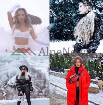 MË NË FUND DIMËR/ Ja cilët janë VIP-at shqiptarë që shijuan dëborën e parë (FOTOT)