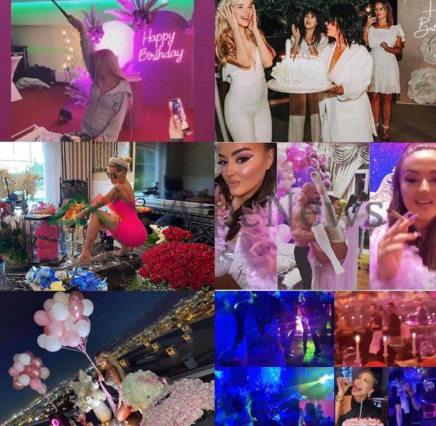 DITËLINDJET LUKSOZE/ Si festuan bukuroshet e showbizzit shqiptar në 2020 (PAMJET)