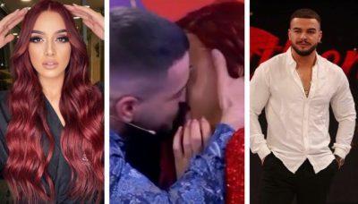 PAS DY TAKIMEVE TË TYRE QË NGJALLËN DEBAT/ Fatjoni puth Melisën në buzë në mes të emisionit (VIDEO)