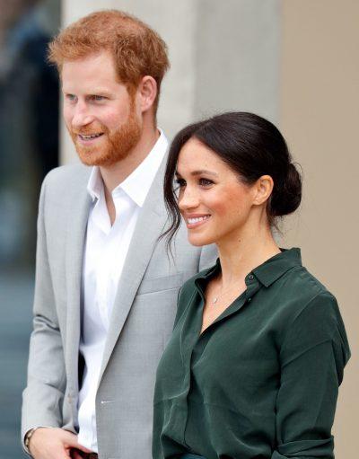 DO BËHEN PRINDËR PËR HERË TË DYTË? Meghan Markle fotografohet me Princin Harry dhe barku i saj i rrumbullakosur mori vëmëndjen