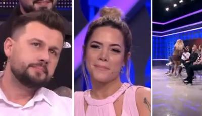 """""""PËR MOMENTIN JAM KONFUZ…""""/ Mevlani refuzon Sarën në takim, Antonela çohet dhe e puth (VIDEO)"""