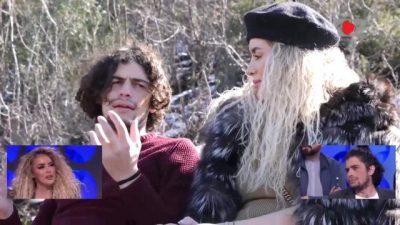 """""""UNË THEM T'I VRASËSH KAFSHËT""""/ Juli merr thikë me vete në takim, Antonela bërtet majë malit (FOTO+VIDEO)"""