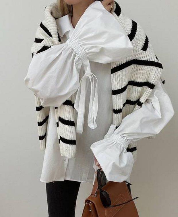 DO E ADHURONI SAPO TA SHIHNI/ 7 ide kombinimesh për bluzen më të famshme të momentit