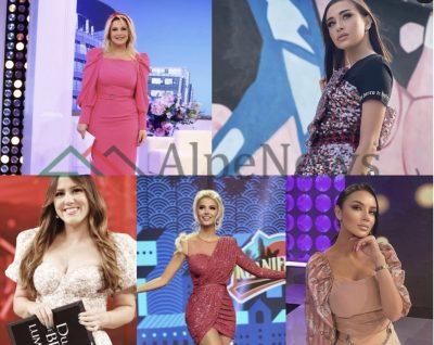 NGJYRA DHE SHKELQIM/ Nga Arbana e deri tek Marina, ja si u veshën moderatoret këtë javë (FOTOT)