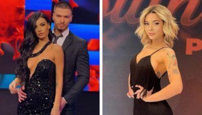 """DEBATI PËR SHKAK TË TAKIMIT ME ANDIN/ Përballja me Jasminën, Sara largohet nga """"Për'puthen Prime"""" (FOTO)"""