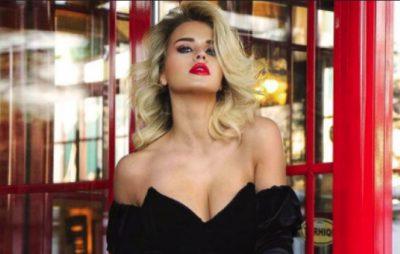 """I VË FLAKËN RRJETIT/ Kejvina Kthjella poston FOTON """"sexy"""" me fustanin e kuq"""