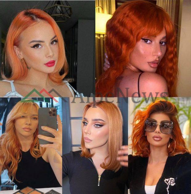 """JENI NË MËDYSHJE PËR NJË NDRYSHIM? Kjo është ngjyra më """"IN"""" e flokëve që po fikson vajzat VIP (FOTOT)"""