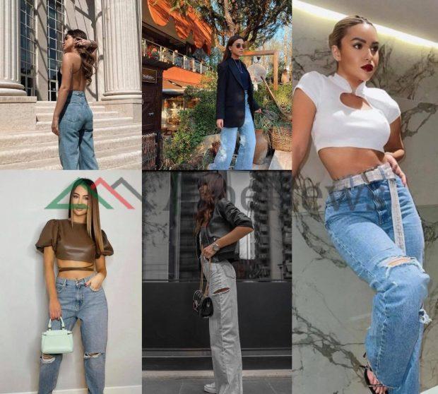 VËMËNDJE GOCA! Ky është trendi më i fundit i xhinseve që po preferohet edhe nga vajzat VIP (FOTOT)