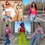 NGJYRA DHE STIL/ Disa nga kombinimet e veçanta të vajzave VIP tani në pranverë (FOTOT)